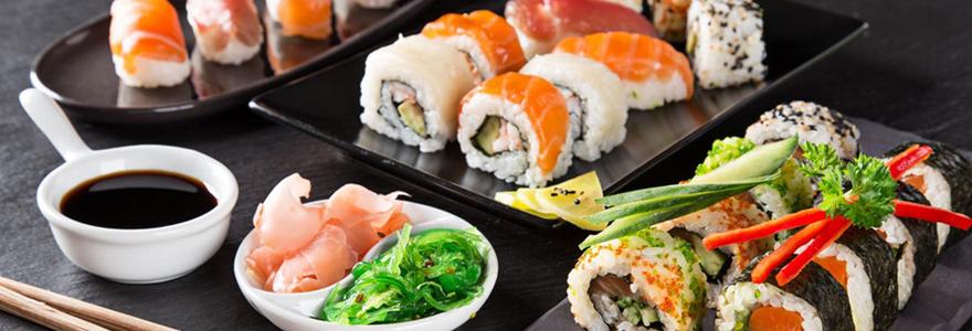 un bon repas japonais