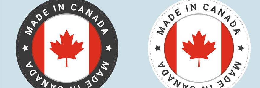 produits issus du Canada