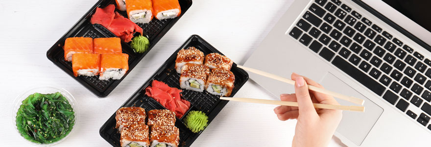 Sushi à emporter
